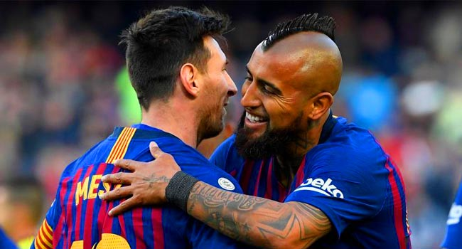 Arturo Vidal, however, has a thorn in it: the Champions League