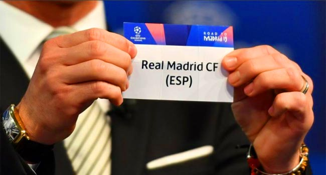 Real Madrid of rigging draw of the Champions League