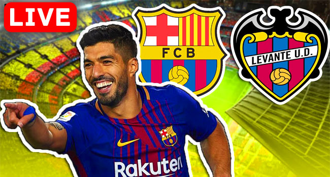 Barcelona vs Levante La Liga Live Streaming