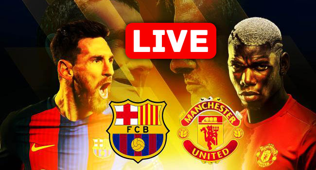 Barcelona vs Manchester United Champions League Live Streaming