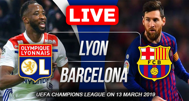 Barcelona vs Olympique Lyonnais Champions League Live Streaming