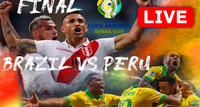 Brazil vs Peru COPA AMERICA LIVE Streaming