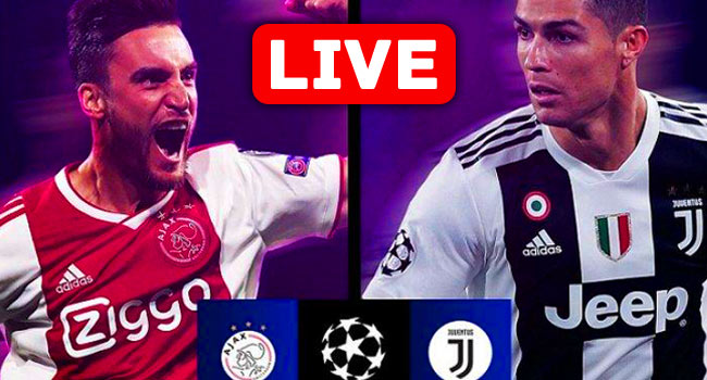 Juventus vs Ajax Champions League Live Streaming