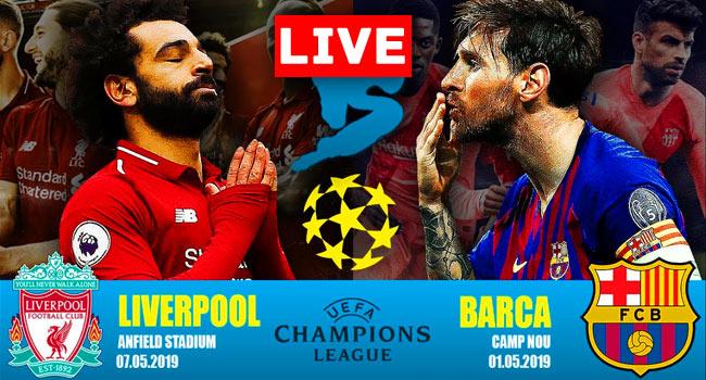 Liverpool vs Barcelona Champions League Live Streaming