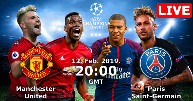Manchester United vs Paris Saint-Germain Live Streaming