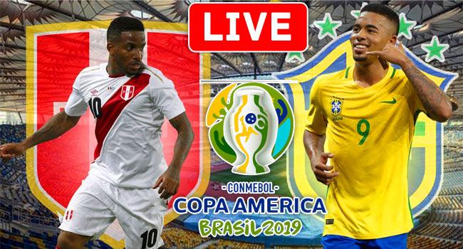 Peru vs Brazil COPA AMERICA LIVE Streaming
