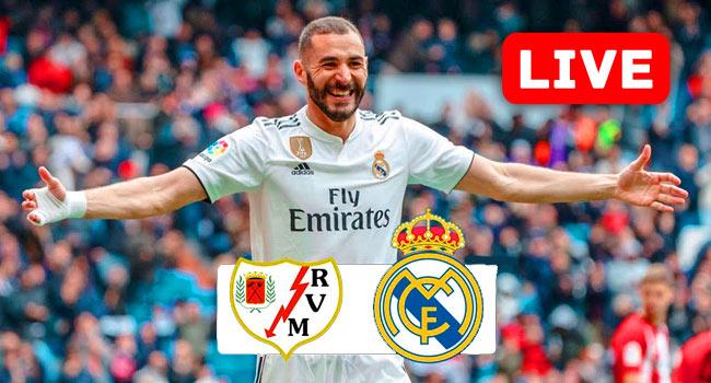 Rayo Vallecano vs Real Madrid La Liga Live Streaming