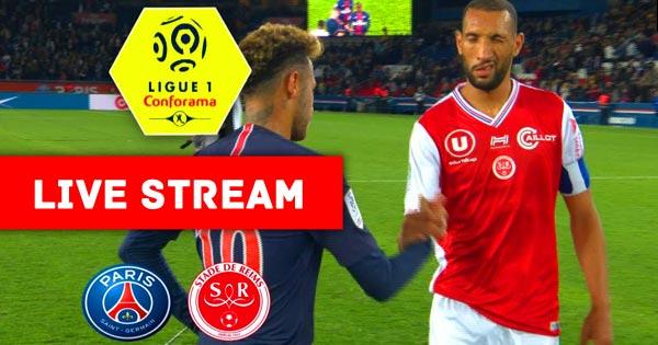 Reims vs Paris Saint-Germain Ligue 1 Live Streaming
