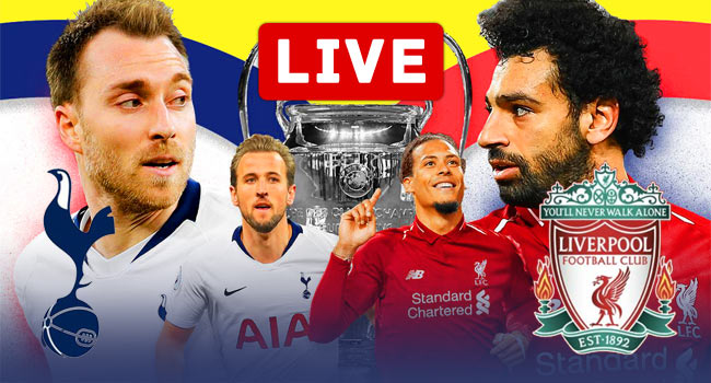 Tottenham Hotspur vs Liverpool Champions League FINAL Live Streaming