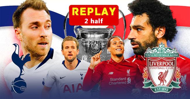 Tottenham Hotspur vs Liverpool Champions League FINAL REPLAY Streaming
