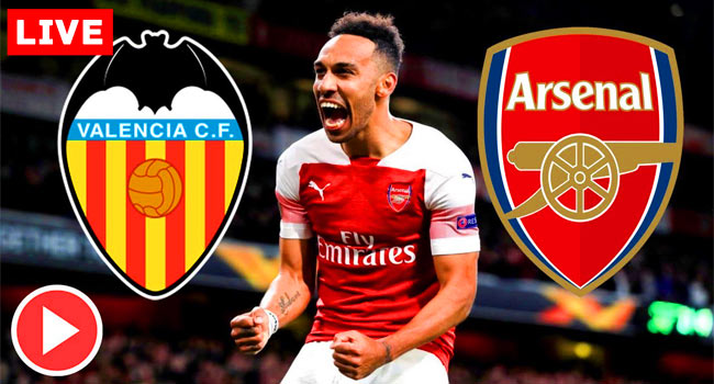 Valencia v Arsenal Europa League Live Streaming